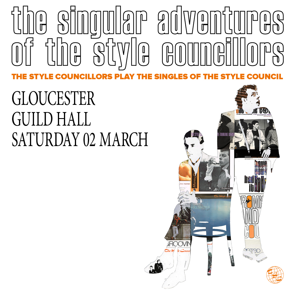 "AGMP presentsTHE STYLE COUNCILLORS""THE SINGULAR ADVENTURES OF...""TOUR 2019The Style Councillors will perform the Singlesof The Style Councilto celebrate the 30th anniversary of their 1989 Greatest Hits Album.The Style Councillors are the world's one andonly tribute to The Style Council.Formedin 2013 by Darren Fletcher (Paul Weller) and SteveHayes (Mick Talbot), The Style Councillors have quickly built a loyal fanbase forthe group which was Paul Weller's home forthe majority of the 1980's and where he wrote some of his finest songs. DaniClay (Dee C. Lee) and Craig Read (SteveWhite) are joined by the Bad Manners HornSection and a stellar line up of musicians hell-bent on recreating the sound of The Style Council.In 2019it will be 30 years since The Style Council splitup and released their Greatest Hits collection ""The Singular Adventures of The Style Council:Greatest Hits Vol. 1"". The album reached number 3 in the UKAlbum Chart and featured some of the best loved songs by the band including ""You'reThe Best Thing"", ""Walls Come Tumbling Down"", ""My EverChanging Moods"", ""Shout To The Top"", ""The Lodgers"",""Speak Like A Child"", ""Have You Ever Had It Blue?"",""How She Threw It All Away"", ""Long Hot Summer"", ""ASolid Bond In Your Heart"" and many more. The Style Councillors will be performing theGreatest Hits Album in full + more classics from The Style Council."