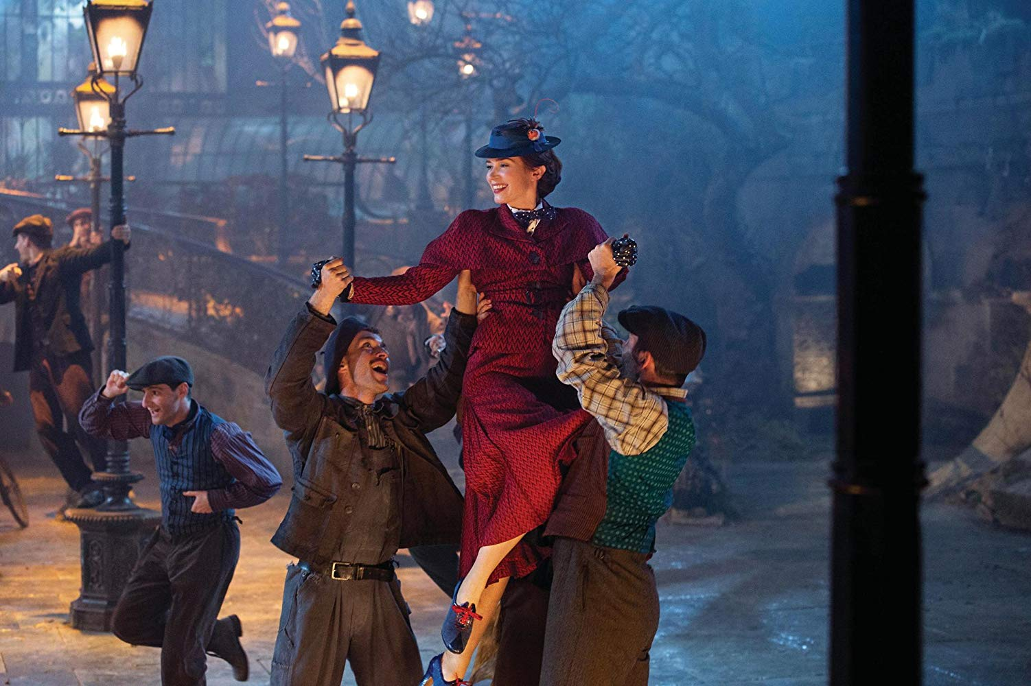 Come and spend half term in the company of Mary Poppins. In Depression-era London, a now-grown Jane and Michael Banks, along with Michael's three children, are visited by the enigmatic Mary Poppins following a personal loss. Through her unique magical skills, and with the aid of her friend Jack, she helps the family rediscover the joy and wonder missing in their lives.