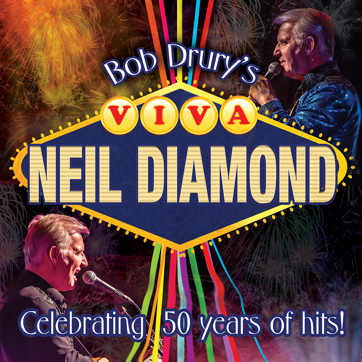 "Bob Drury's 'VIVA NEIL DIAMOND' Whilst performing in Las Vegas two years ago Bob Drury wasdescribed  ""one of the world'sfinest vocal tributes to Neil Diamond"" and he's now back touring the UKwith his new show celebrating the legendary Neil Diamond  and his incredible back catalogue of songs.  Bob Drury's one-man show is an absolute'must-see' for any Diamond fans.  Prepareto be blown away by his vocal likeness which has been delighting audiencesaround the world.  This year's show includesall  the favourites such as Cracklin'Rosie, America, Love on the Rocks, Play Me, Hello Again, Forever in Blue Jeans,Beautiful Noise, I'm a Believer, Red Red Wine and of course Sweet Caroline,plus Neil Diamond's UK hit Pretty Amazing Grace and a few lesser known songsthat are sure to become your favourites by the end of the evening.  A fantastic evening guaranteed! ""an uncanny resemblance to Neil Diamond's voice. That senttingles down my spine Bob!""  Debbie McGee, BBC Radio Berkshire ""Bob, it was great hearing you last night and I was totallyblown away by your level of musicianship on guitar"" Mark LeVang, keyboard player with Neil Diamond's band  ""Bob is well established as one of the world's finest vocaltributes to Neil Diamond"" SteveTatone, Film Producer, Midnight Pass Productions, USA ""If I didn't know better I'd have said that was Neil Diamondsinging"" Pat Marsh, BBC Radio Kent  ""Without doubt, the best Neil Diamond tribute in the UK. The vocalaccuracy is astonishing!"" – Chris Neilson (Artistic Director) First &Foremost Entertainment Ltd ""….oozing class"" Nolan Dean, Cruise Director, M/V Island Star ""Neil Diamond fans will be delighted with the sound-alikequality and the nifty guitar work"" UK Cabaret Magazine£16"