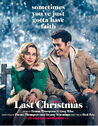Loosely based on the music of George Michael, Kate is a young woman subscribed to bad decisions. Her last one being that of having accepted to work as Santa's elf for a department store. However, there she meets Tom and her life takes a new turn. For Kate, it seems too good to be true.